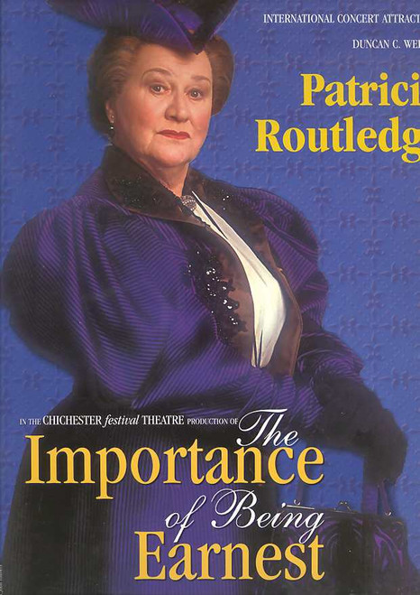 The Importance of Being Earnest (Play), Patricia Routledge, Alistair Petrie, Essie Davis, Australian 2001 Production