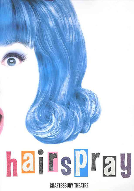 Hairspray (Musical), Michael Ball, Ian Talbot, Leanne Jones, Ben James-Ellis,2007 Shaftesbury Theatre London, Hairspray program, hairspray souvenir brochure