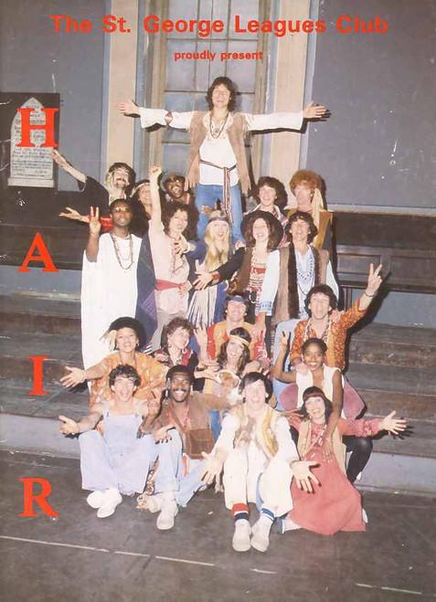 Hair (Musical), Trevor White, Stephen Thomas, Carmen Tanti, Darien Sticklen, St George Leagues Club Australia 1981