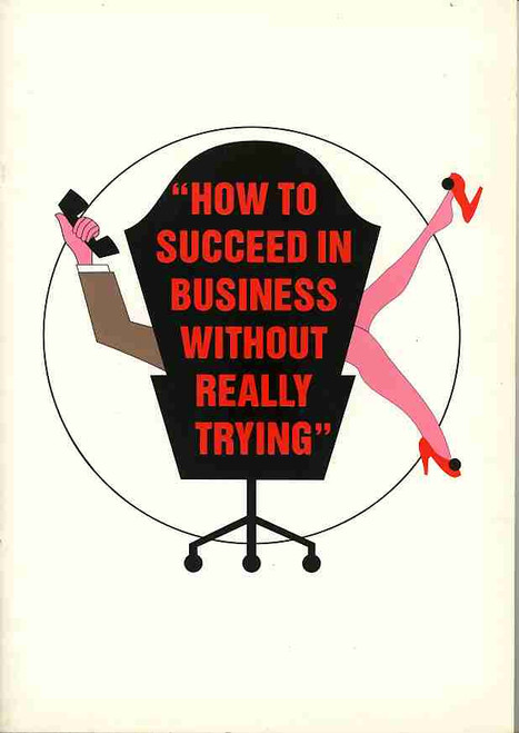 How to Succeed in Bussiness without Really Trying, Tom Burlinson, Georgie Parker - 1993 Australian Tour, Program, How to Succeed memorabilia