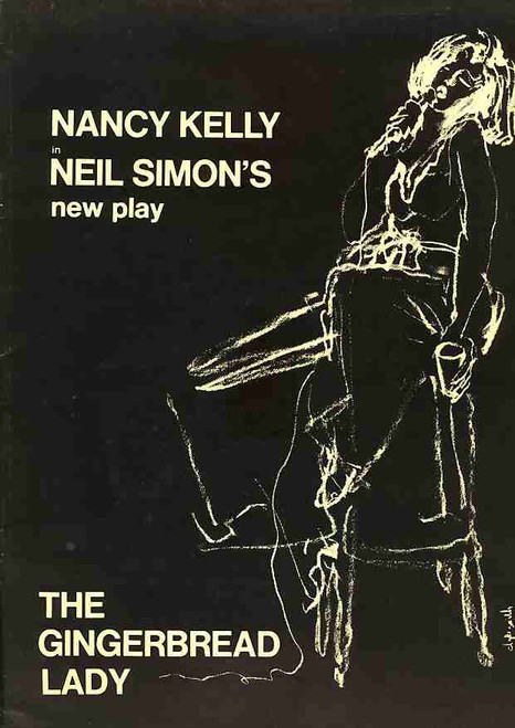 The Gingerbread Lady (Play), Nancy Kelly, Betsy von Furstenberg, Michael Lombard, Maureen Silliman, 1972 USA Tour