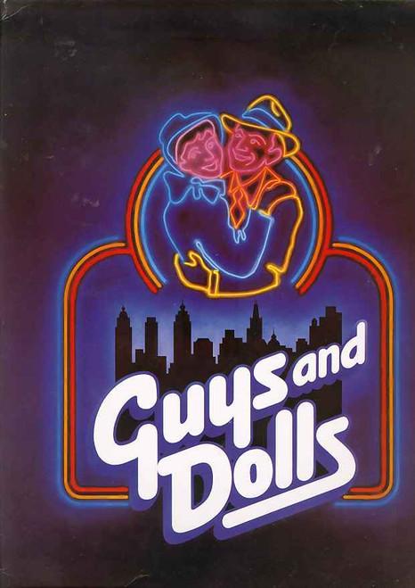 Guys and Dolls (Musical), Nancye Hayes, Peter Adams, Angela Ayers, Anthony Warlow, Australian 1986 Production