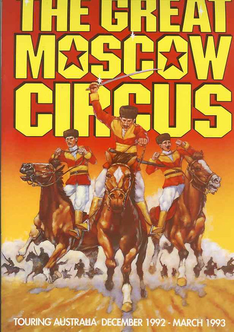 """Great Moscow Circus (Circus), Australian Tour 1992-1993, The title """"Moscow State Circus"""" is used for a variety of circuses"""