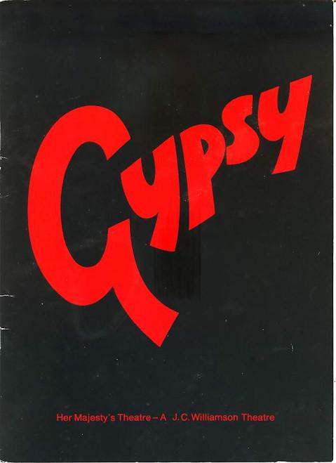 Gypsy (Musical), Gloria Dawn, Graham Rouse, Sue Walker, Pamela Stephenson, 1975 Australian Production