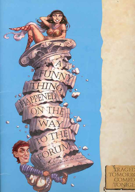 A Funny Thing Happened on the Way to the Forum (Musical), Jon English, Drew Forsythe, 1999 Australian Production