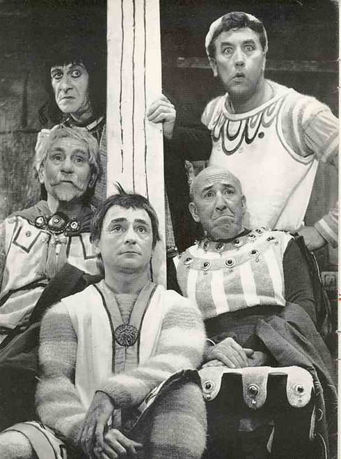 A Funny Thing Happened on the Way to the Forum (Musical), Frankie Howard, Kenneth Connor, 1963 London Production