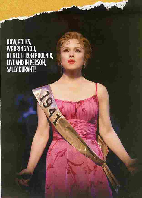 Follies (Musical), Bernadette Peters, Jan Maxwell, Danny Burstein, Ron Raines, Elaine Paige, 2011 Revival Marquis Theatre