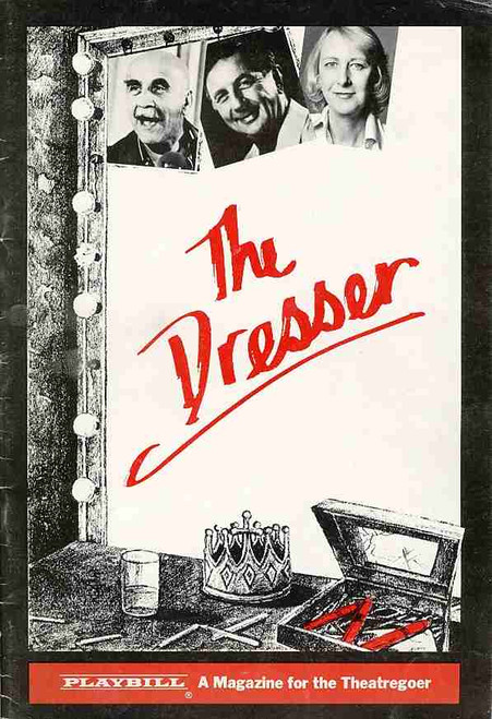 The Dresser (Play),  Warren Mitchell, Gordon Chater, Ruth Cracknell, 1981 Play Australian Production