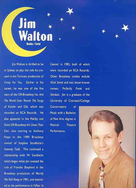Crazy for You (Musical), Jim Walton, Georgie Parker, Peter Carroll, Marty Fields, Stuart Wagstaff, 1996 Theatre Royal, Sydney