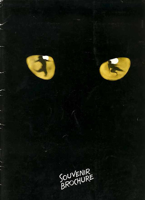 Cats (Musical), Paul Nicholas, Sarah Brightman, Brian Blessed, Angela Richards, Graham Flecther 1982 - New London Theatre