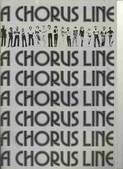 A Chorus Line (Musical), David Atkins, Tony Bartuccio, Peita Toppano, Greg Sims - Original 1977 Australia Tour