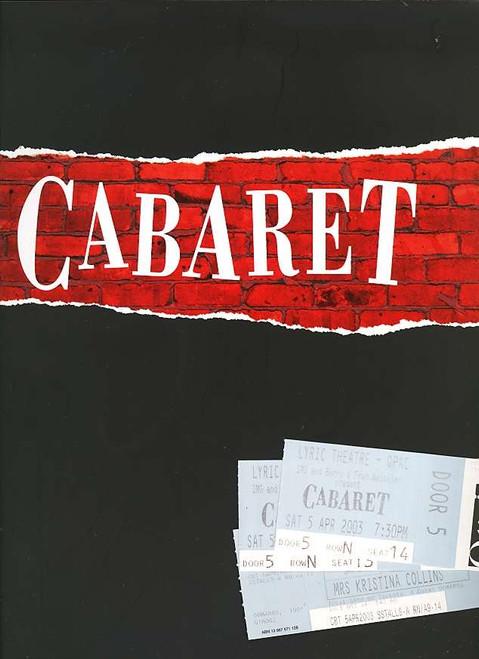 Cabaret (Musical), Lisa McCune, Rachael Beck, Ian Stenlake, Toby Allen, Judi Connelli, 2003 Australian Production
