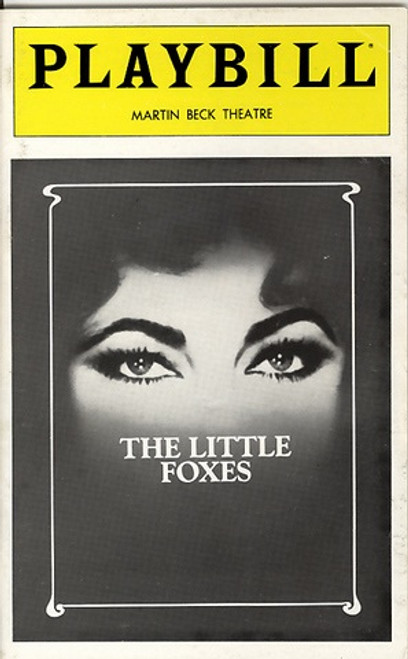 "The Little Foxes is a 1939 play by Lillian Hellman. Its title comes from Chapter 2, Verse 15 in the Song of Solomon in the King James version of the Bible, which reads, ""Take us the foxes, the little foxes, that spoil the vines: for our vines have tender grapes"