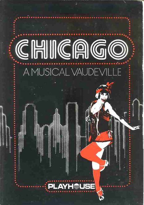 Chicago (Musical), Nancye Hayes, Jill Perryman, Jenny McNae,Kevan Johston, 1983 (Perth) Australian Production