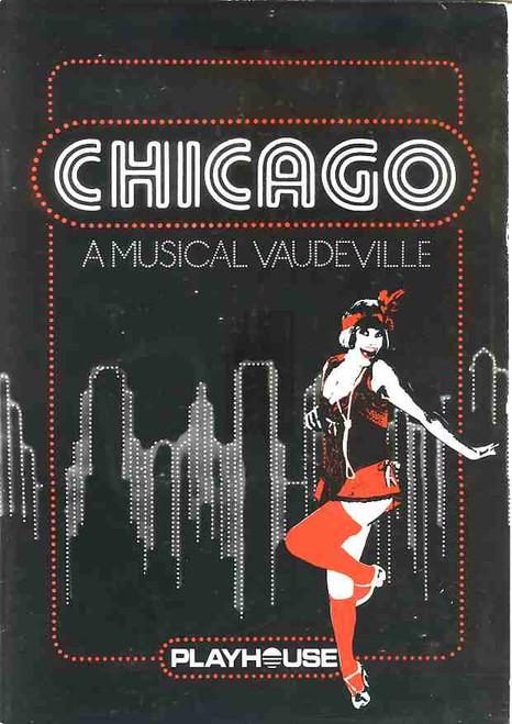 Chicago (Musical), Nancye Hayes, Jill Perryman, Jenny McNae,Kevan Johston, 1983 (Perth) Australian Production