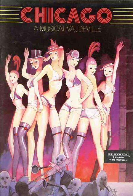 Chicago (Musical), Nancye Hayes, Geraldine Turner, Terence Donovan, Judi Connelli, 1981 (Sydney) Australian Production