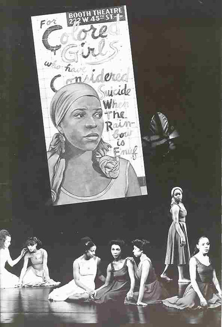 For Colored Girls (Play), Australian 1978 Tour - Great Collectors Piece Rare!