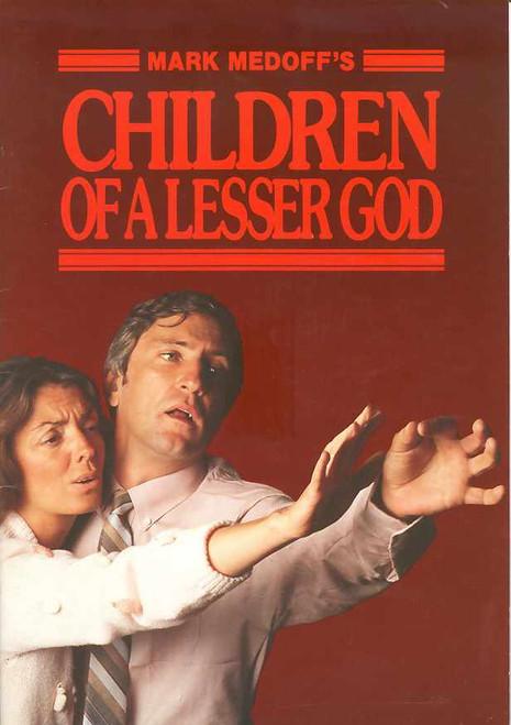 Children of a Lesser God (Play), John Waters, Elizabeth Quinn - Australian 1984 Production
