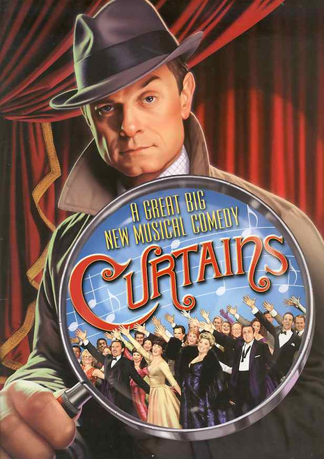 Curtains (Musical),  2007 David Hyde Pierce,  Debra Monk, Karen Ziemba,  Jason Danieley, Al Hirschfeld Theatre