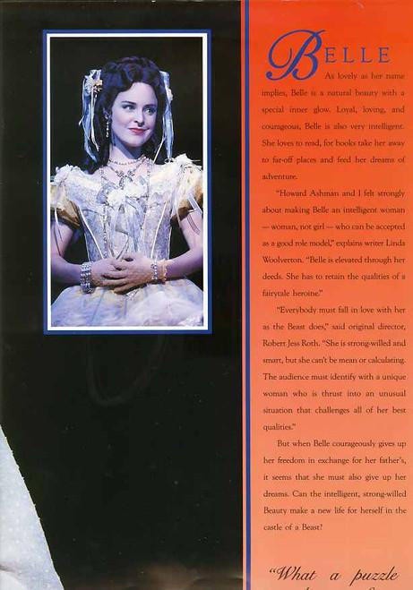 Beauty and the Beast (Musical), Michael Cormick, Rachael Beck, Hugh Jackman Ernie Bourne, Australian 1994 Season