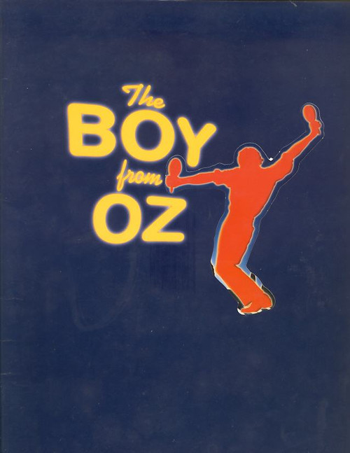 The Boy from Oz The (Musical), Todd Mckenney, Chrissie Armphlett, Jill Perryman, 1998 Australian Tour