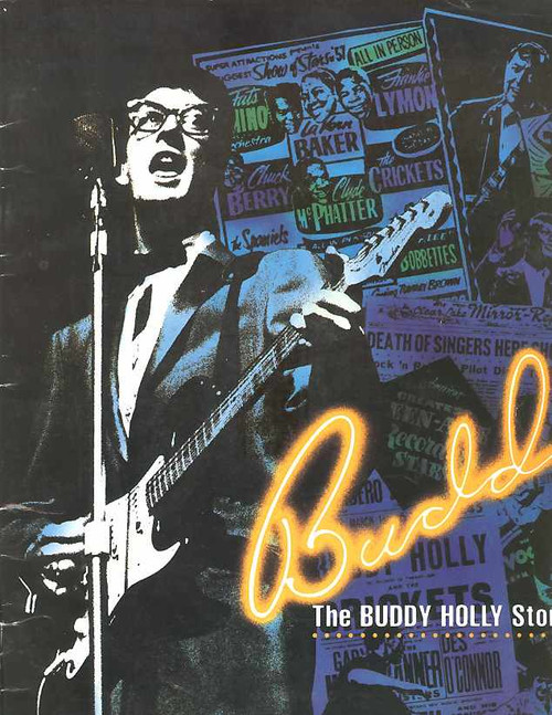Buddy (Musical), Scot Robin, Billy Geraghty - Australian Tour 1991, Buddy – The Buddy Holly Story is a jukebox musical in two acts with a book co-written by Alan Janes and Rob Bettinson