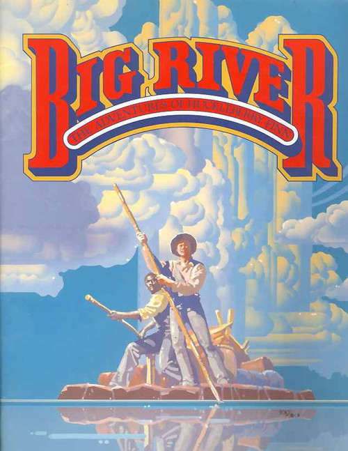 Big River (Musical), John Bell, Cameron Daddo, Michael Edward-Stevens - Her Majesty's Theatre Sydney  1989