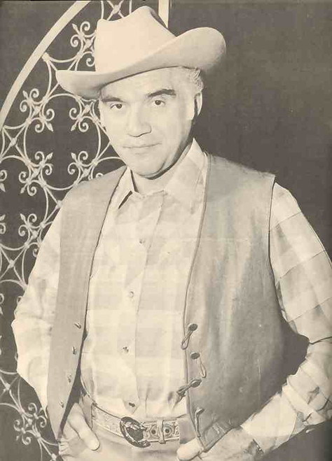 Bonanza Stampede Special Event(Show), Lorne Greene, Le Garde Twins Ted and Tom- 1964 World Tour