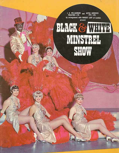 Black and White Minstrel Show (Varitety Show), Australasian Tour 1960's Johnnie Mack, Jill Bradburn, The Hunt Club Quartette