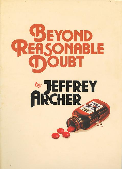 Beyond Reasonable Doubt (Play), Play by Jeffrey Archer Australian 1989 Tour