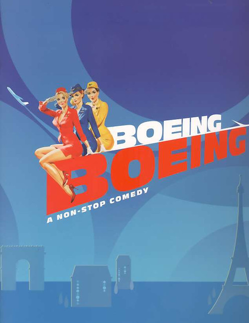 Boeing Boeing (Play), Christine Baranski, Mark Rylance,Bradley Whitford, Broadway Revival 2008