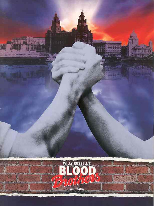 Blood Brothers (Musical),   David Soul, Delia Hannah, Stefan Dennis, Australian Tour 1994
