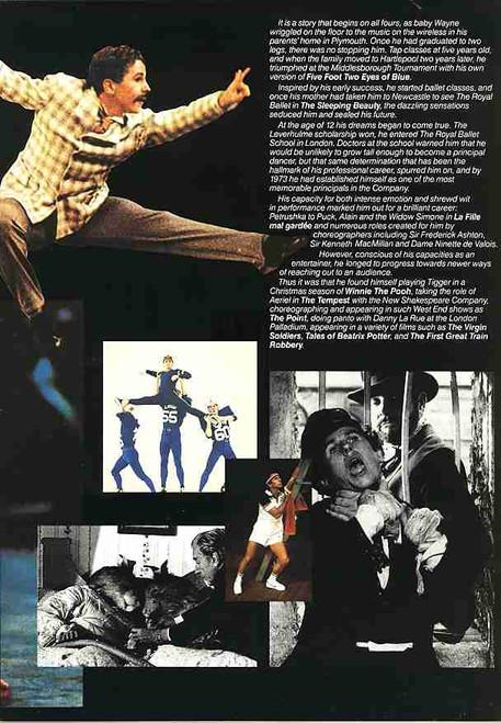 Bits & Pieces Wayne Sleep (Dance), 1998 West End London UK