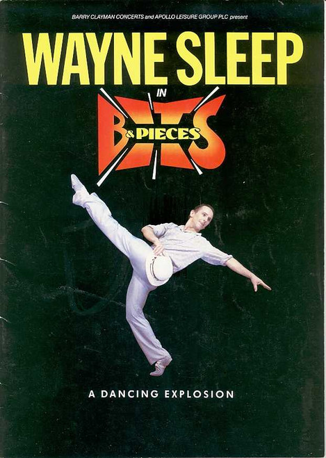 Bits & Pieces Wayne Sleep (Dance), 1998 West End London UK