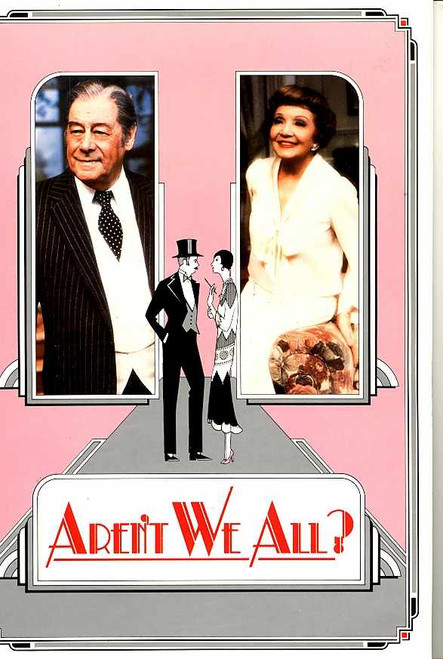 Aren't We All ? (Play), Rex Harrison, Claudette Colbert, Lynn Redgrave - 1986 – Australian Tour