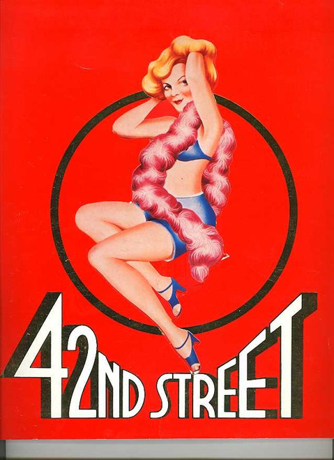 42nd Street (Musical), Nancye Hayes Toni Lamond Todd McKenney Barry Quin, Australian 1989 Her Majesty's Theatre