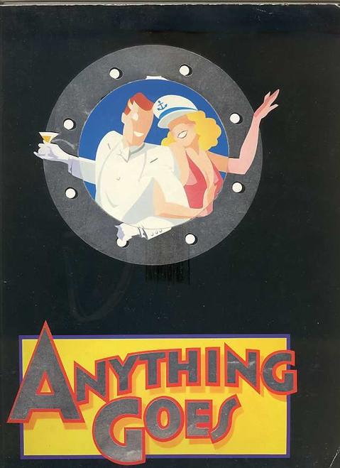 Anything Goes (Musical), 1989 Australian Season  Starring Geraldine Turner, Simon Burke, Peter Whitford, Grant Dodwell, Maggie Kirkpatrick, Marina Prior