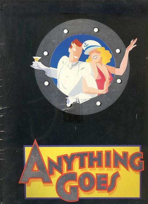 Anything Goes (Musical), by Cole Porter 1989 Australian Season, Starring Geraldine Turner, Simon Burke, Peter Whitford, Grant Dodwell, Maggie Kirkpatrick, Marina Prior