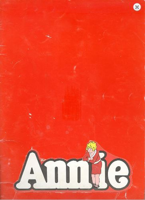 Annie (Musical), Jill Perryman Hayes Gordon - 1978 at Her Majesty's Theatre Melbourne Australia