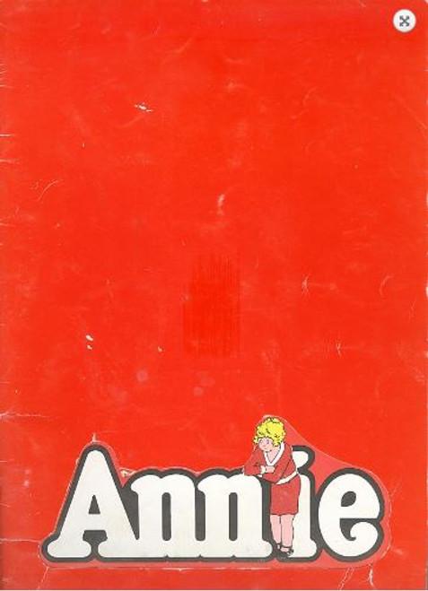 Annie (Musical), Jill Perryman Hayes Gordon - 1978 at Her Majesty's Theatre Melbourne Australia