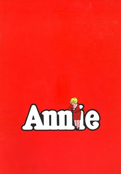 Annie (Musical) Australian 1981 Season Jill Perryman Edgar Metcalfe, Annie is a Broadway musical based upon the popular Harold Gray comic strip Little Orphan Annie