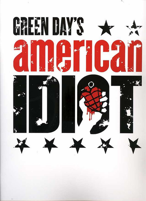 American Idiot (Musical) Broadway Souvenir Brochure, Music by Green Day John Gallagher Jr., Stark Sands, Mary Faber,  St James Theatre NYC