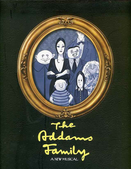 The Addams Family (Musical) Nathan Lane Bebe Neuwirth - Lunt-Fontanne Theatre, The Addams Family  is a musical comedy with music and lyrics by Andrew Lippa and a book by Marshall Brickman and Rick Elice