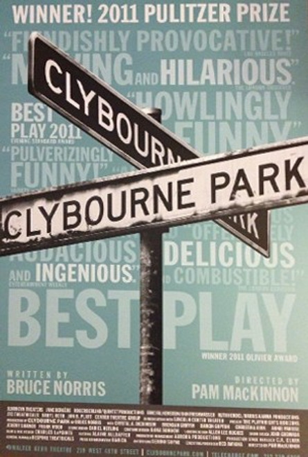 Clybourne Park (Play), Starring Crystal A Dickinson, Brendan Griffin (2010 Production), Poster / Window Card