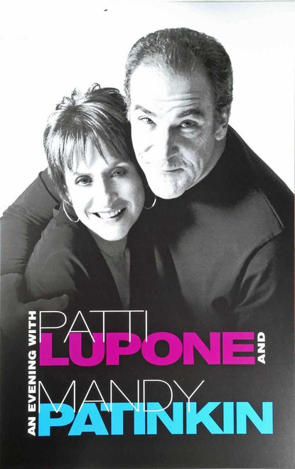 An Evening With Patti Lupone and Mandy Patinkin, (Concert) 2011 Broadway Production – Ethel Barymore Theatre, Window Card / Poster