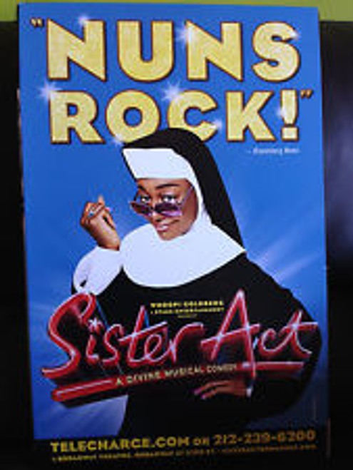 Sister Act (Musical), Patina Miller, Carolee Carmello, Alena Watters, Kingsley Leggs, -Windowcard / Poster