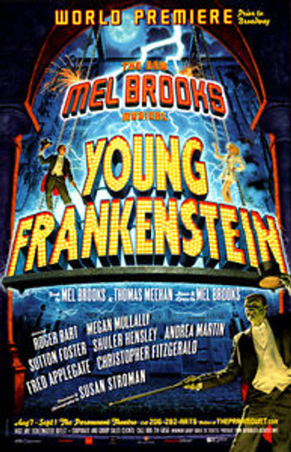 Young Frankenstein (Musical), World Premiere Out of Town Try Out, Megan Mullally, Roger Bart, Sutton Foster