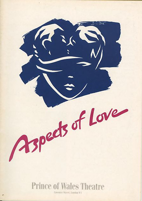 Aspects of Love (Musical) , Susannah Fellows, David Greer, Kevin Colson, Becky Norman - 1990 West End Production London