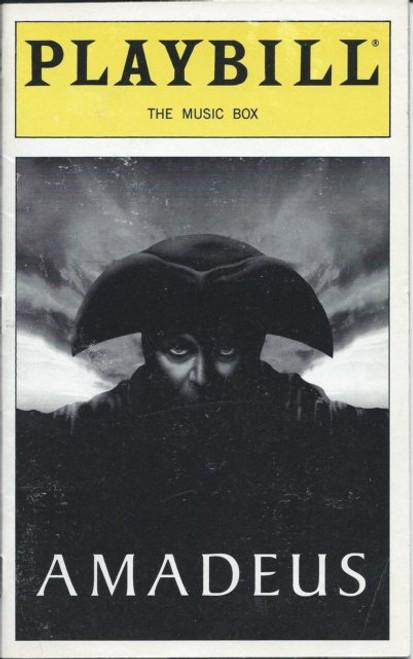Amadeus (Feb 2000), David Suchet, Michael Sheen, Cindy Katz, David McCallumThe MusicBoxTheatre NYC, a play by Peter Shaffer