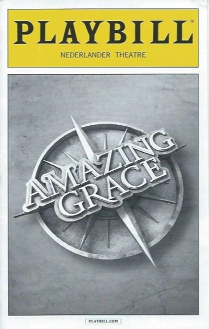 Amazing Grace - Sept 2015, Directed by Gabriel Barre, Josh Young - Erin Mackey Playbill